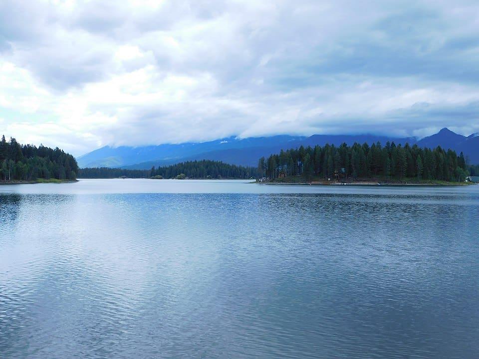 Fishing Echo Lake, MT