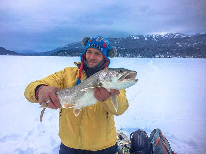 ice fishing montana