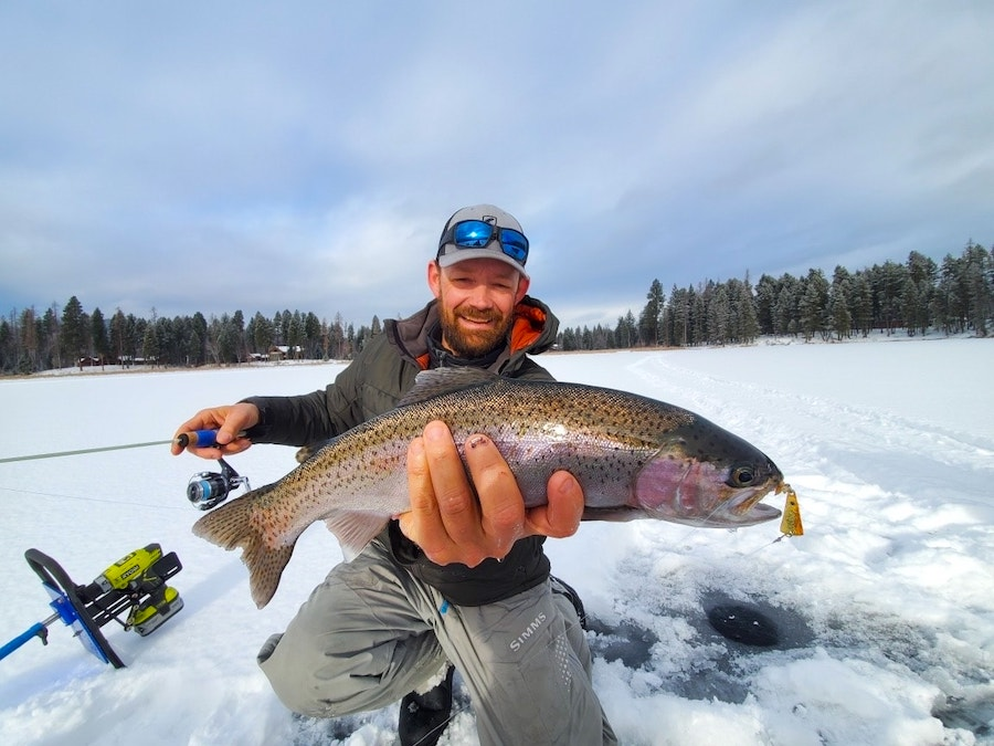 November 25 Ice Fishing Report